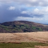 The view over Dyffryn Crawnon valley to Tor-y-Foel