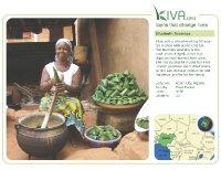 Kiva Calendar 2008 - Elizabeth Asemtoa (March)