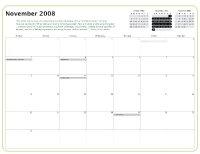 Kiva Calendar 2008 - November