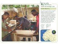Kiva Calendar 2008 - Komlan Semenou (May)