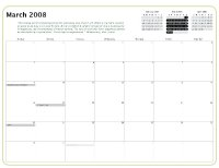 Kiva Calendar 2008 - March