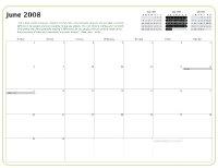 Kiva Calendar 2008 - June