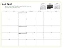 Kiva Calendar 2008 - April