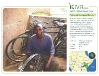 Kiva Calendar 2008 - Mohamed Nyongesa Masinde (August)