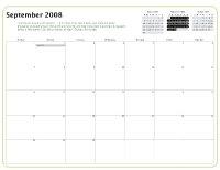 Kiva Calendar 2008 - September