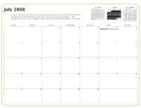Kiva Calendar 2008 - July