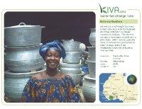 Kiva Calendar 2008 - Salimata Ouattara (November)