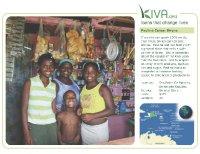 Kiva Calendar 2008 - Paulina Cersar Sirena (July)