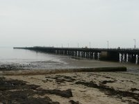 The pier at Ryde, the starting point for the walk round the island
