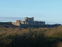 Dover Castle from the west