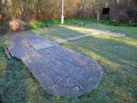 The Bleriot Memorial - marking the landing spot of the first flight across the Channel
