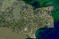 Kent from GoogleEarth - looks like the oilseed rape is in flower!