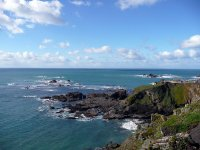The Lizard in Cornwall, the southern most point of the UK
