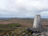 The view north from Bodmin Moor