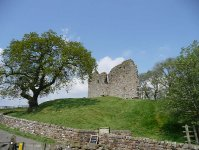 Thirwall Castle, near Greenhead and the end of day 15