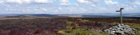 The moorland north of Bellingham header image (from day 18)