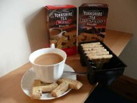 Yorkshire Tea Biscuits, if only the T shape could be easily packed
