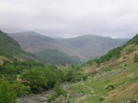 Coast to Coast - Day 3 - the view back down Borrowdale, halfway to Lining Crag