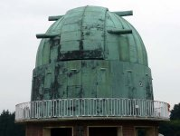 Telescope dome at the former Royal Observatory at Herstmonceux