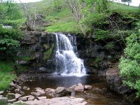 Coast to Coast - Day 9 - waterfall just outside Keld