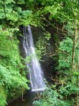 Coast to Coast - Day 14 - Flowing Foss waterfall
