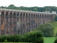 Balcombe Ouse Valley Viaduct, Grade II* listed railway viaduct comprised of 37 arches - looking south east