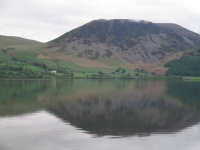 Coast to Coast - Day 2 - the view across Ennerdale water