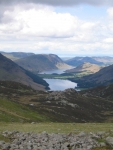 Coast to Coast - Day 2 - the view north over Buttermere