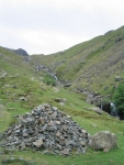 Coast to Coast - Day 3 - the first sight of Lining Crag just over the top of the ridge