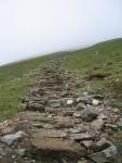 Coast to Coast - Day 4 - The way up onto the ridge and towards Helvellyn