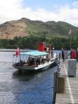 Coast to Coast - Day 4 - Steamer Lady of the Lake docking