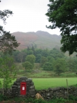 Coast to Coast - Day 5 - a postbox in Patterdale