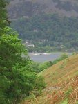 Coast to Coast - Day 5 - the last view of Ullswater and the steamers