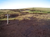 Coast to Coast - Day 8 - the peat bogs were not that easy to cross where the turf was broken (or completely warn away)