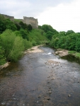 Coast to Coast - Day 11 - the river Swale flowing out of Richmond