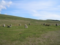 Coast to Coast - Day 1 - the fake stone circle