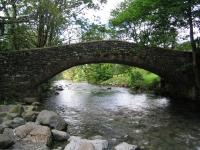 Coast to Coast - Day 2 - bridge over the River Derwent