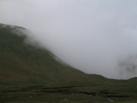 Coast to Coast - Day 3 - the Wythburn Trap was just over the ridge as the cloud rolled in from Grasmere