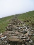 Coast to Coast - Day 4 - The way up onto the ridge and towards Helvellyn