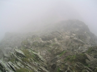 Coast to Coast - Day 4 - Striding Edge was down there somewhere in the mist