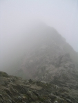 Coast to Coast - Day 4 - Striding Edge in the mist
