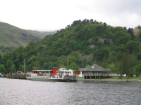 Coast to Coast - Day 4 - Coming into dock in Glenridding.