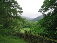 Coast to Coast - Day 5 - the view up Patterdale, not long after the path started to climb up to the Hause