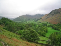 Coast to Coast - Day 5 - the view up Patterdale