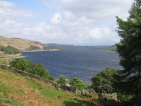 Coast to Coast - Day 5 - The foot of Haweswater with the dam at the end