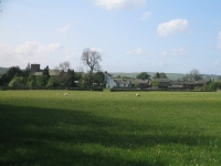 Coast to Coast - Day 5 - Bampton Grange across a hay meadow
