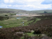 Coast to Coast - Day 7 - moorland and Sunbiggin Tarn