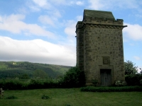 Coast to Coast - Day 11 - the water tower in Ingleby Arncliff