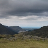 Coast to Coast - Day 2 - the view from the top looking back over Ennerdale Water to the Irish Sea