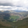 Coast to Coast - Day 2 - the view down into Borrowdale